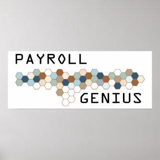 Payroll Genius Poster