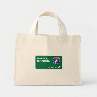 Payroll Next Exit Mini Tote Bag