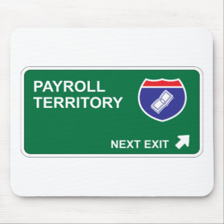 Payroll Next Exit Mouse Pad