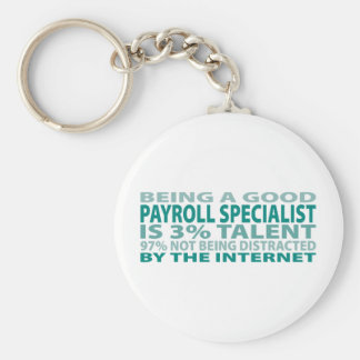 Payroll Specialist 3% Talent Keychain