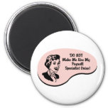 Payroll Specialist Voice Refrigerator Magnets