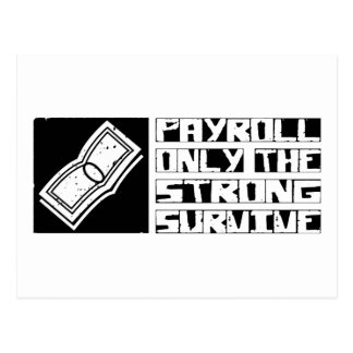 Payroll Survive Post Cards