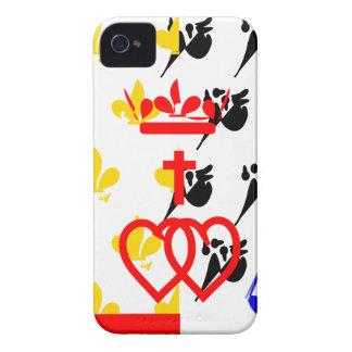 pays-de-la-loire-Flag Case-Mate iPhone 4 Case