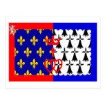 Pays-de-la-Loire flag Post Cards