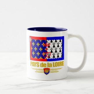 Pays de la Loire Two-Tone Coffee Mug
