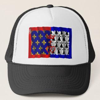 Pays-de-la-Loire waving flag Trucker Hat