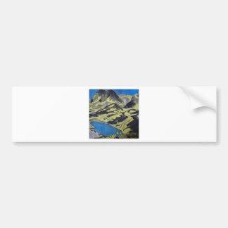 Paysage des Alpes 7 Bumper Sticker