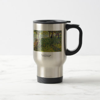 Paysage Et Personnages By Seurat Georges Mugs