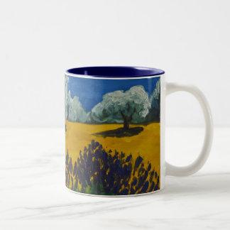 Paysage Provençal Two-Tone Coffee Mug