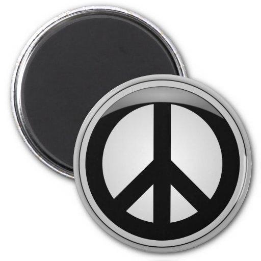 Paz 3D Imán Redondo 5 Cm