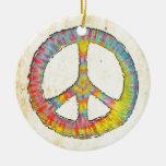 Paz 713 del teñido anudado adorno de navidad