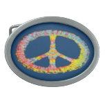 Paz 713 del teñido anudado hebilla cinturon