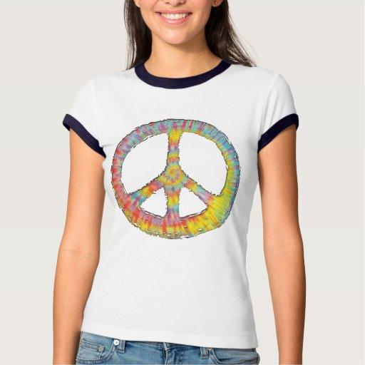 Paz 713 del teñido anudado remera