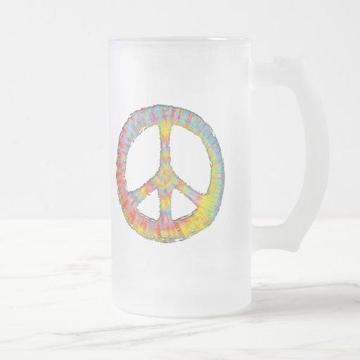 Paz 713 del teñido anudado taza