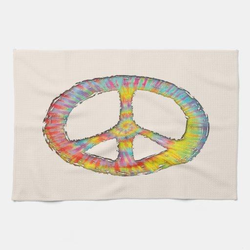 Paz 713 del teñido anudado toallas de cocina