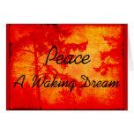 Paz A que despierta sueño Tarjetón