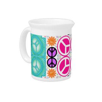 Paz abstracta jarron