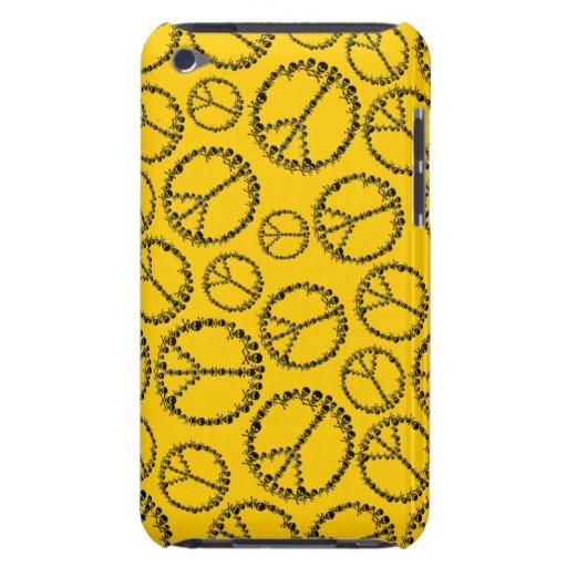 Paz adaptable de Skully iPod Touch Case-Mate Cárcasas