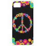 Paz adaptable del flower power del estallido iPhone 5 cárcasa