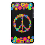 Paz adaptable del flower power del estallido iPod touch carcasa