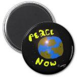 Paz ahora imanes de nevera