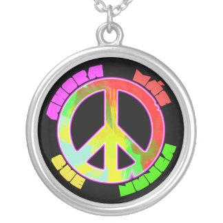 Paz, Ahora Más Que Nunca Colgante Redondo