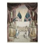 Paz, alegoría del tratado de Gante Postal