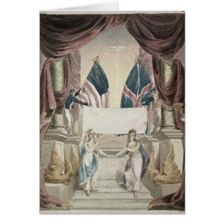 Paz, alegoría del tratado de Gante Felicitaciones