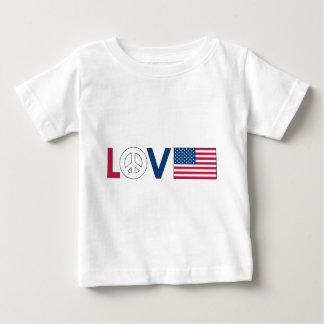 Paz América del amor Playera