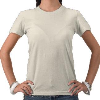 Paz amor acupuntura camiseta