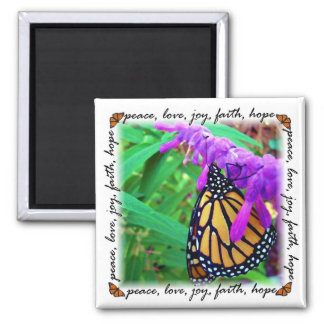 paz, amor, alegría, fe, imán de la esperanza