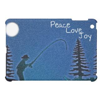 Paz, amor, alegría/pescador de la mosca en nieve