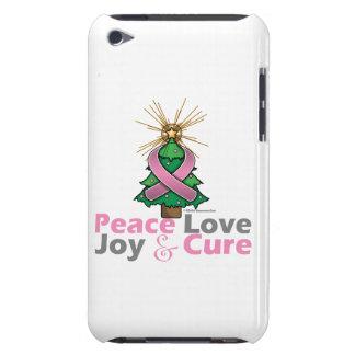 Paz amor alegría y curación del cáncer de pecho iPod Case-Mate funda
