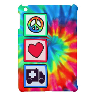 Paz, amor, ambulancia iPad mini carcasas