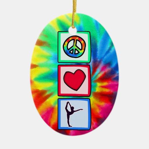 Paz, amor, ballet ornamentos de reyes magos