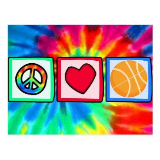 Paz, amor, baloncesto postal