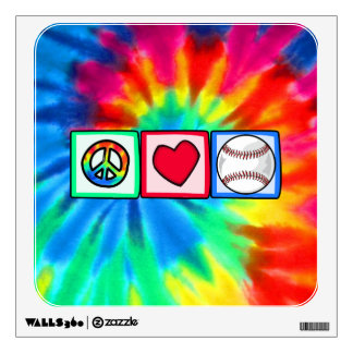 Paz, amor, béisbol vinilo