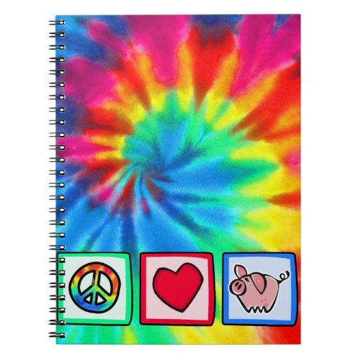 Paz, amor, cerdos cuadernos