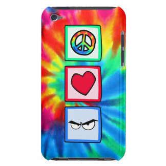 Paz amor cólera iPod touch funda
