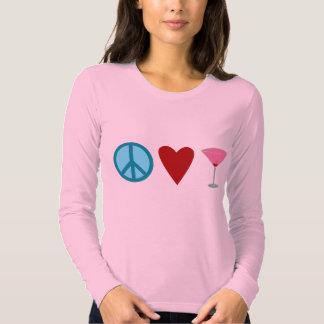 Paz, amor, cosmopolita playera