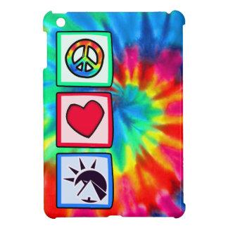 Paz amor egipcios iPad mini protector