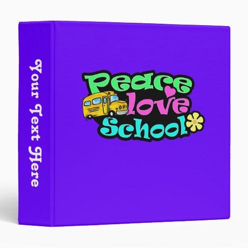 Paz, amor, escuela; Retro