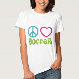 Paz, amor, fútbol playera