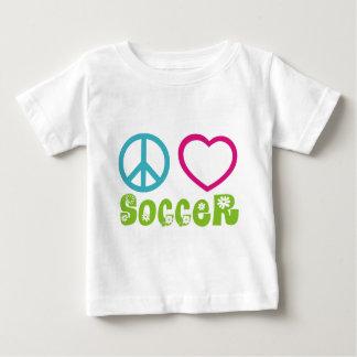 Paz, amor, fútbol polera