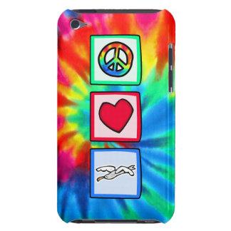 Paz amor gaviotas iPod touch fundas