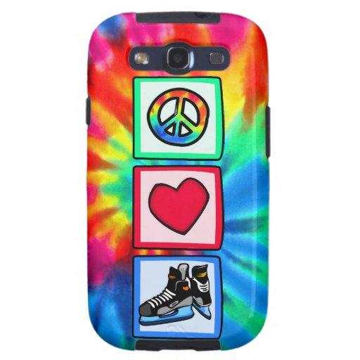 Paz, amor, hockey galaxy s3 cobertura