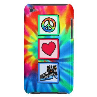 Paz, amor, hockey iPod Case-Mate carcasas