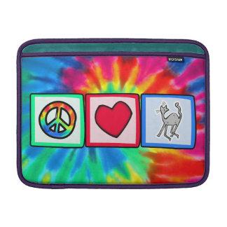 Paz amor Housecats Funda Macbook Air