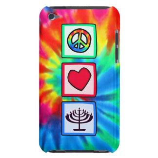 Paz, amor, Jánuca iPod Case-Mate Coberturas