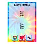 Paz, amor, Kayaking Comunicado Personalizado
